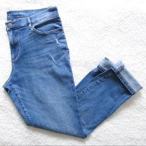 LOFT Girlfriend Jeans